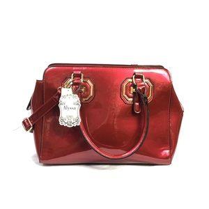 NWT Alyssa Vegan Lead-free PU Handbag